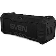 Колонка портативная Sven PS-430,15 Вт, Waterproof (IPx5),Bluetooth, FM, USB, microSD, LED-дисплей фото