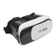 Очки виртуальной реальности VR Case II (черные с белым/коробка) фото