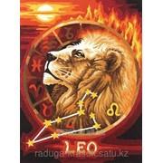 Картина по номерам Знак Зодиака Лев фото