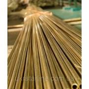 Труба латунная Л63 10х1,5х3000 мм птв фото