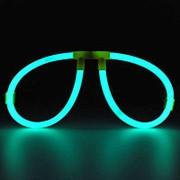 Очки под неонку (неоновый свет) фото