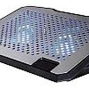 """Подставка для ноутбука Hama H-53064 (00053064) 15.6""""270x370x30мм 23дБ 2x 140ммFAN 698г алюминий/пластик серебристый фото"""