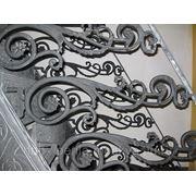 Изготовление установка лестниц, перил, козырьков фото