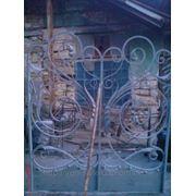Ворота,заборы,заборные вставки 7 фото