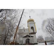 Изготовление и установка церковных куполов фото