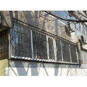Решетки сварные с нижним и верхним радиусами из квадрата 12мм фото