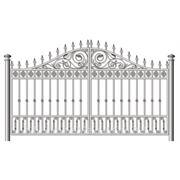 Ворота,заборы,заборные вставки 6 фото