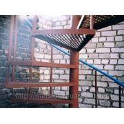 Сделать металлический каркас лестницы в Киеве. фото