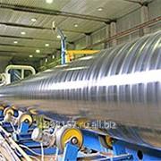 ГОСТ 9.602-2005. ДИН 306-70. Производство антикоррозийного покрытия стальных труб Ø57-530 мм, экструдированным термосветостабилизированным полиэтиленом высокого давления марки ПВД153-10К. фото