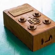 Шкатулка-сейф с действующим кодовым замком фото