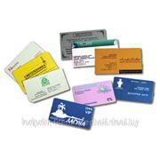 Визитки (односторонняя цифровая печать), печать визиток фото