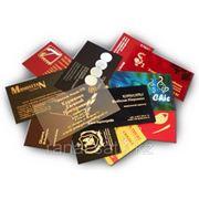 Изготовление визиток любой сложности в Алматы! фото