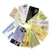 Визитки, печать визиток фото