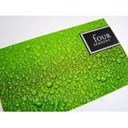 Изготовление визиток (тираж 50) цветность 4+4 фото