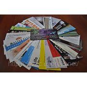 Печать визиток Одесса фото