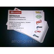 Визитные карточки (100 шт.) фото