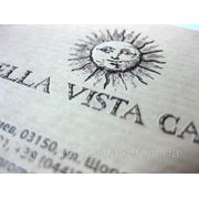 Печать VIP-визиток фото