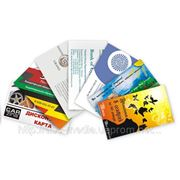 Печать визиток, изготовление визиток Днепропетровск фото