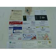 Визитки на бумаге COLOTECH+ 300г/м2 (1+1) фото