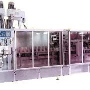 Фасовочный автомат для муки в готовые бумажные пакеты. фото