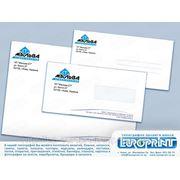 Изготовление и печать конвертов фото