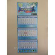 Изготовление квартальных календарей. Макет в CorelDRAW фото