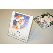 Календарь настольный в CD-футляре фото