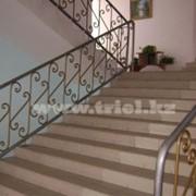 Изготовление ограждений лестниц фото