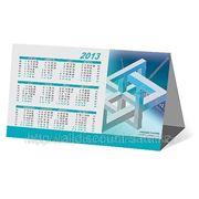 Изготовление календарей в Астане (домик, эконом), визитки, кал фото