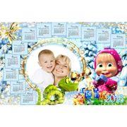 Печать календарей с вашей фотографией в Караганде размером 20х30 см фото