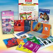 Листовки, брошюры, буклеты, каталоги фото
