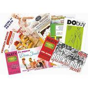 Печать глянцевых визиток в Астане, визитки, календари, листовки, брошюры фото