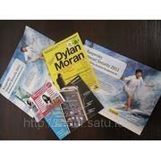 Печать флаеров и рекламных листовок в Алматы! фото