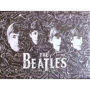 Винтажный коллаж The Beatles фото