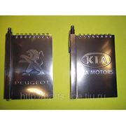 Блокнот на магните с ручкой фото