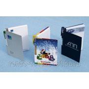 Фирменные блокноты под ручку ф.а6 и а5 на пружине и на склейке фото