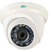 Купольная камера видеонаблюдения RVi-C311B 2.8 мм фото