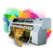 Широкоформатная печать на баннере фото
