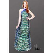 Сублимация и пошив длинного платья фото