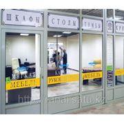 Оформление витрин в Алматы фото