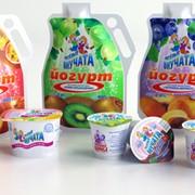 Йогурты питьевые фото