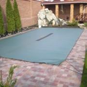 Чехол на бассейн,накидка для бассейна,укрытие для бассейна. фото