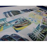 Цветная и черно- белая печать документов, плакатов, календарей, афиш, презентаций формат А4, А3, А2, А1, А0 фото
