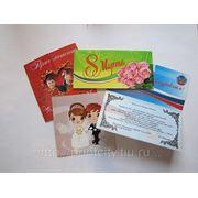 Поздравительные открытки и приглашения по инд.заказам фото