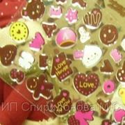 """Sweet Sticker Желейные наклейки """"Печенюшный стиль"""" фото"""