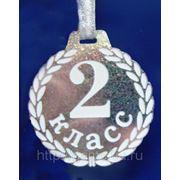 Медаль пластиковая малая (50мм) фото