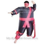 Надувной костюм Черный ниндзя