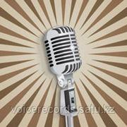 Профессиональный диктор, запись голоса для аудио рекламы... фото