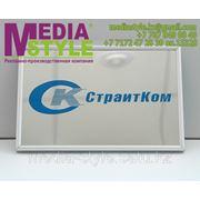 Таблички офисные, информационные, рекламные, металлические, с объемными буквами, фасадные таблички фото