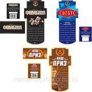 Дизайн этикеток на алкогольную продукцию фото
